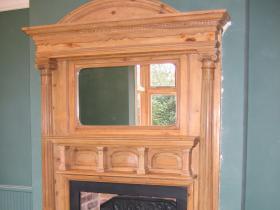 2l. Following work - Wood fireplace restoration